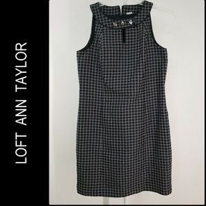 Loft Ann Taylor Woman Sleeveless Shift Short Dress